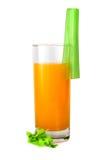 Jus et céleri d'orange photographie stock