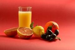 Jus et fruit Photographie stock