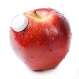Jus frais de pommes Photo stock