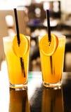 Jus frais orange Image libre de droits
