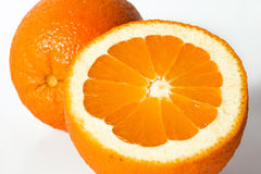 Jus orange et d'orange Images stock