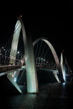 Juscelino Kubitschek bridge in brasilia brazil Stock Photo