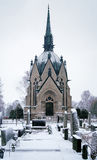 Juselius Mausoleum in Pori Stock Image