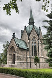 Juselius Mausoleum in Pori, Finland Royalty Free Stock Photo