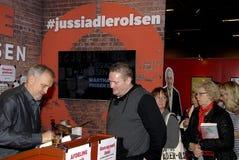 JUSSI ADLER OLSEN _DANISH WRITER AD AUTHOR Stock Photography