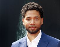 Jussie Smollett. At the Los Angeles special screening of `Alien: Covenant` held at the TCL Chinese Theatre IMAX in Hollywood, USA on May 17, 2017 stock photos