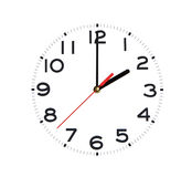 Just A Clock Royalty Free Stock Photography
