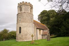 Church in UK stock photo