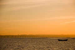 Just another end of day. Is easy to photograph when you have a sunset with this scenario Royalty Free Stock Photography