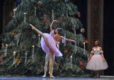 Just background-Tableau 3-The Ballet  Nutcracker Stock Photo
