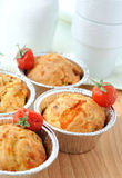 Just baked homemade muffins Royalty Free Stock Photography