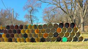 Just Barrels Stock Images