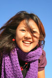 Just be happy. Portrait of a smiling young asian woman Stock Photography