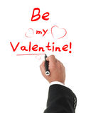 Just Be My Valentine! Stock Photography