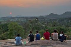 Hmakuta hill and sunset