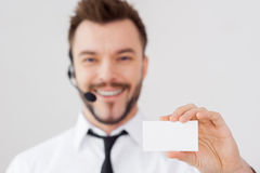 Just call this number! stock image