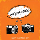 We Just Click illustration Stock Photography