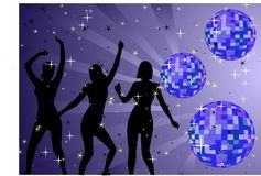 Just dance Royalty Free Stock Photo