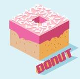 Just donut Royalty Free Stock Photos