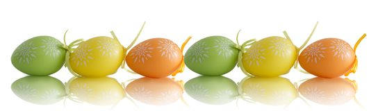 Just the eggs Royalty Free Stock Image