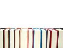 Just a few books Royalty Free Stock Photos