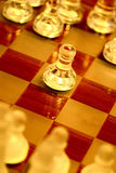 Just a game. A game of chess stock image