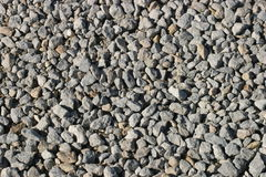 Just Gravel. A flat bed of gravel royalty free stock images