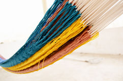 Just hammock colors  Stock Images