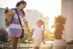 Just healthy for my family. royalty free stock images