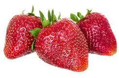 Just juicy strawberries Royalty Free Stock Images