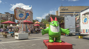 Just for laughs festival Royalty Free Stock Photo