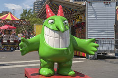 Just for Laughs mascot. Just for Laughs (French: Juste pour rire) is a comedy festival held each July in Montreal, Quebec, Canada. Founded in 1983, it is the royalty free stock image