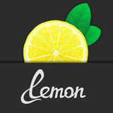 Just of lemon Royalty Free Stock Images