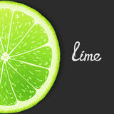 Just lime Royalty Free Stock Photo