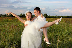 Just married Royalty Free Stock Photography