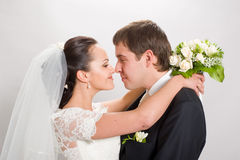 Just married. Stock Images
