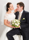 Just married. Stock Photo