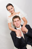 Just married. Royalty Free Stock Photo