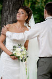 Just married. #3. Bride and groom. Just married. #3 stock photo
