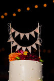 Just Married Cake Topper Royalty Free Stock Photos