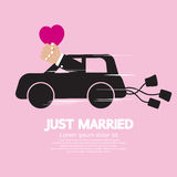 Just Married Concept Stock Photo