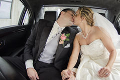 Just married couple Royalty Free Stock Images