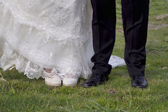 Just married Royalty Free Stock Images