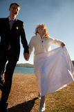 Just married! Royalty Free Stock Images