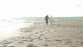 Just Married stock footage