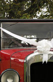 Just Married Old Vintage Wedding Car