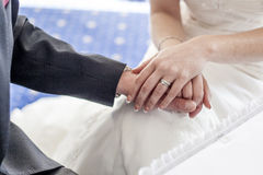 Just married. Royalty Free Stock Images