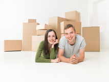 Just moved in Stock Photography