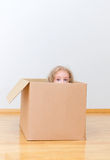 Just moved into a new home. Concept photo Royalty Free Stock Photography