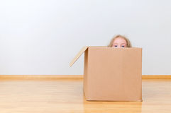 Just moved into a new home. Concept photo Royalty Free Stock Images